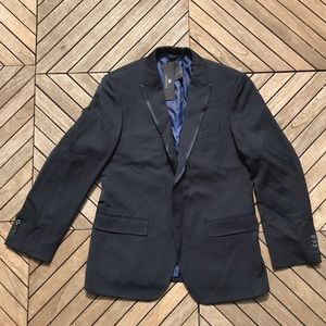 BR Banana Republic Monogram Wool Blazer Jacket